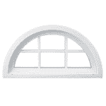 Radius or Arch Windows - Peach Building Products Doors & Windows in Utah