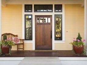 porch decorative glass