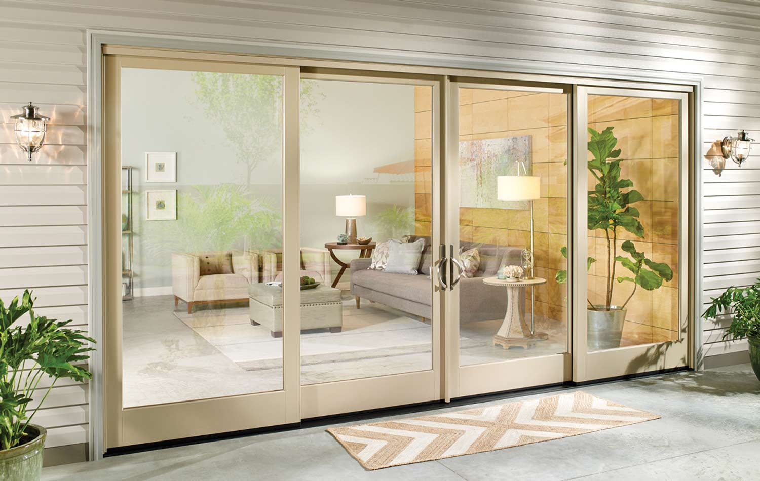 sliding glass patio doors in utah peach building products
