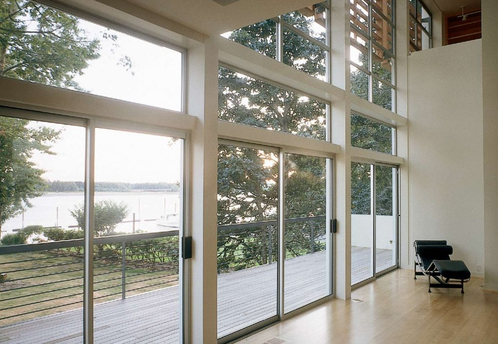 Peach building products windows doors patios for Sliding glass doors sunroom