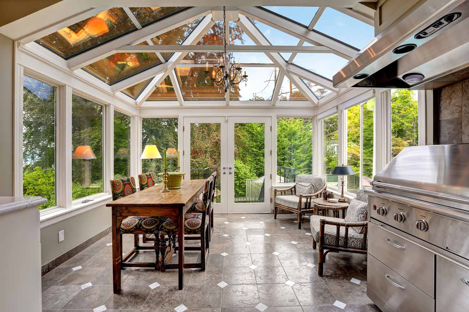 Sunrooms In Salt Lake City Peach Building Products