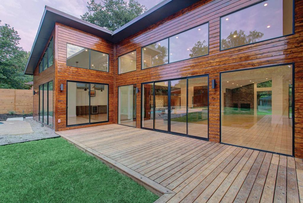 Windows doors patios sunrooms in salt lake city peach building products for Modern showroom exterior design