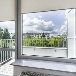 window in balcony