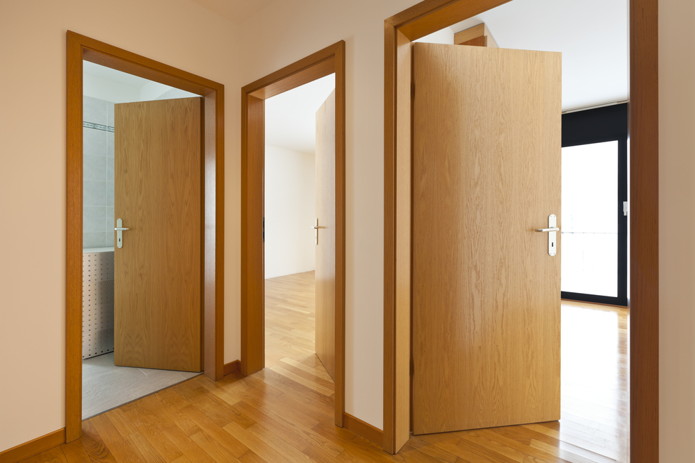 inswing vs. outswing doors